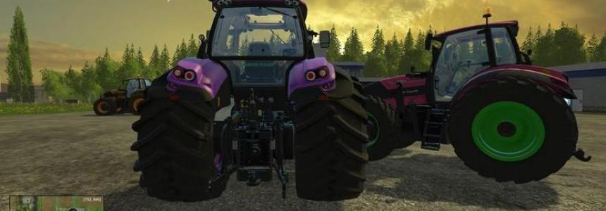Deutz Fahr 7250 Forest Queen v2.0 Bundle