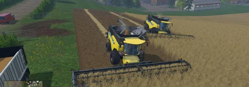 Dynamic front wheeled New Holland CR1090 Combines v1.3 Final