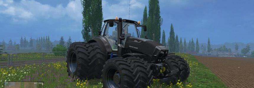 Dynamic8 Deutz Fahr 7250 black texture FIX v1.0