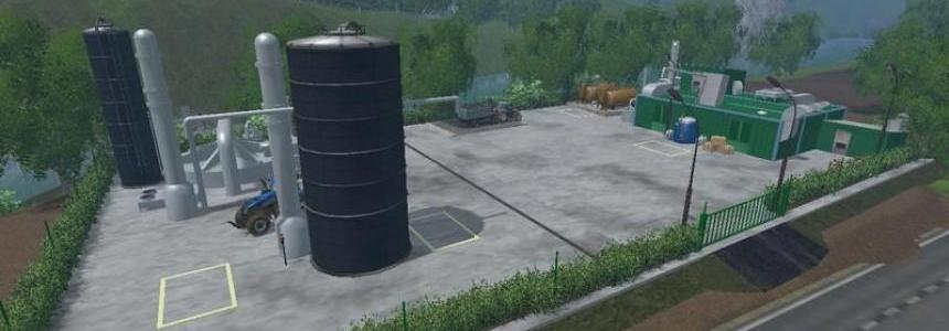 Factory for fertilizer feed diesel v1.3