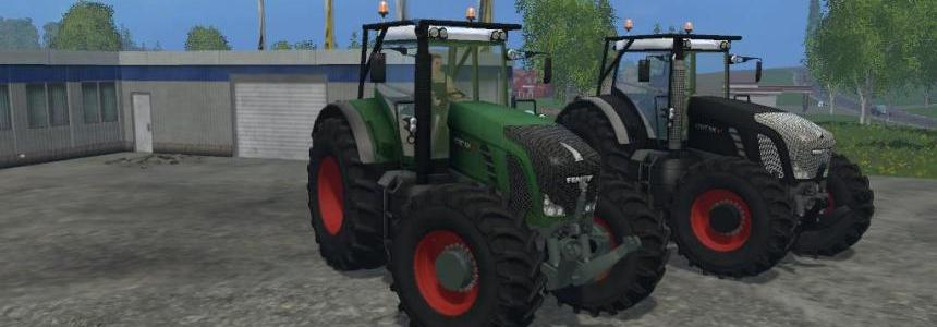 Fendt 936 Vario Forest Edition V1.1
