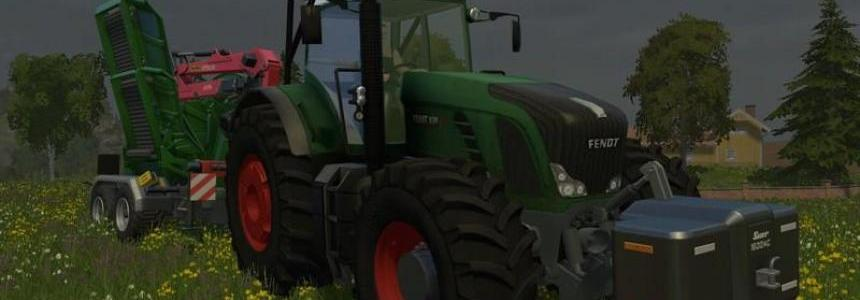 Fendt 936 Vario Forest Edition v1.2