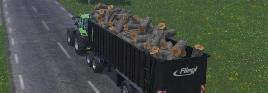 Fliegl Wood Trailers v1.0
