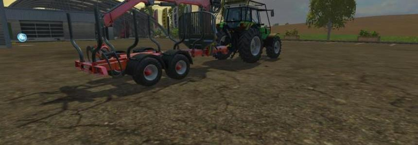 Forestry Deutz 661 Agro Star v1.0