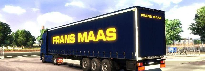 Frans Maas Transport Trailer Skins v1