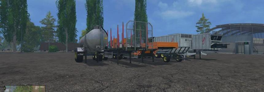 Full Fliegl pack with dyeable wheels V1.0