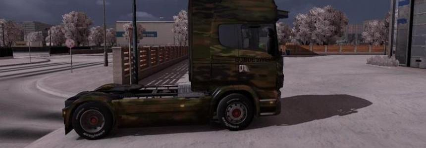 German Army Scania Truck v1.0