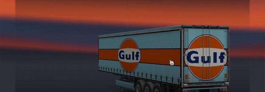 Gulf Racing Trailer Skin v2.0