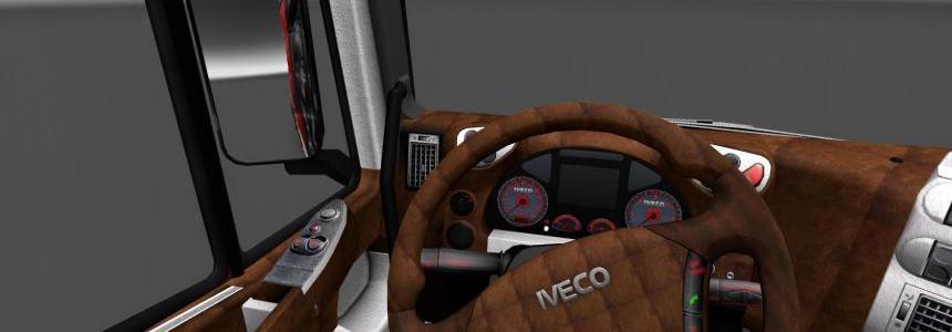 Iveco Stralis interior v1.0