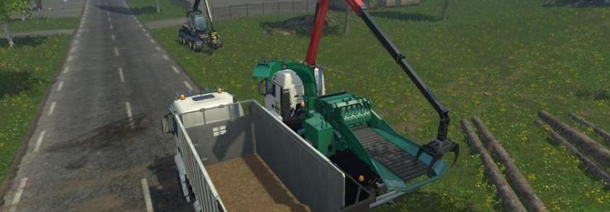 Jenz wood chipper setting frame v1.0