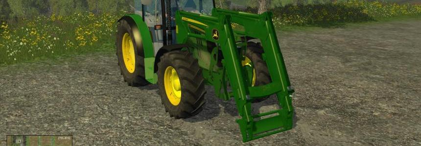JOHN DEERE 6110RC FULL