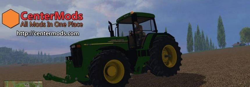 John Deere 8110 for Farming Simulator 2015 V1.0