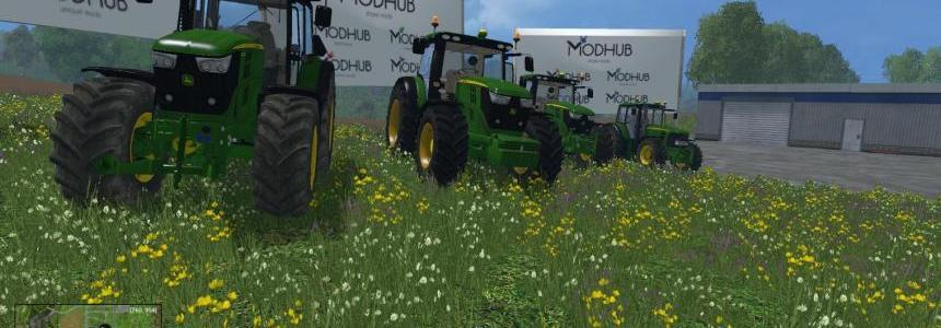John Deere Medium Tractors Pack