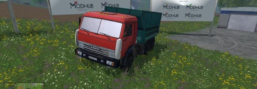 KAMAZ-55111 v2.0 by Dmitry Kostin