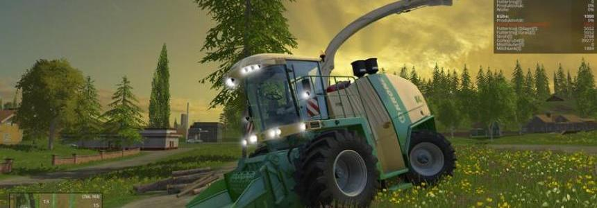 Krone BIG X 1100 Crusher v1.0 Beta