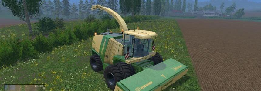 Krone BigX11 with Dynamic twin fronts wheels pack 2 V1.0