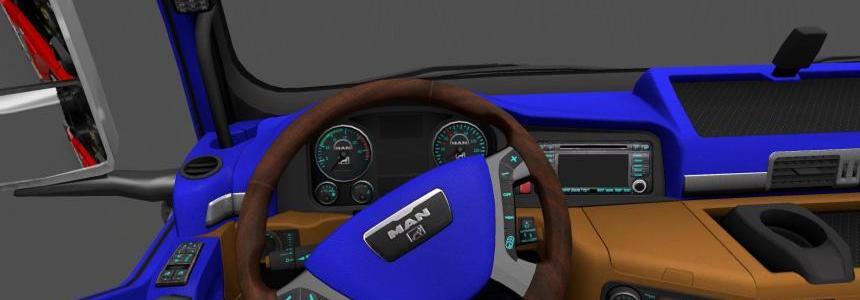 MAN TGX Interior v1.0