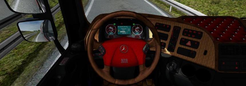 MB Actros interior v2.0