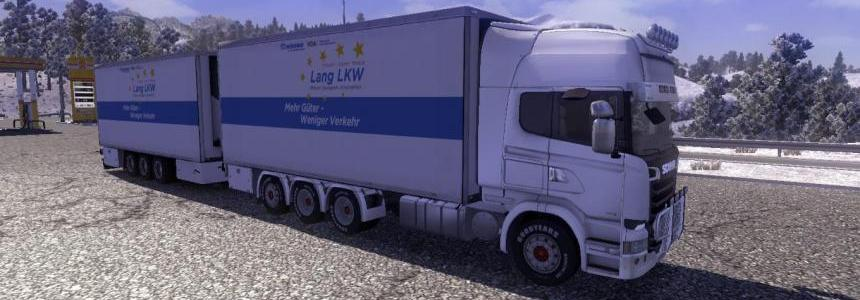 Mod Truck Scania BDF Reefer