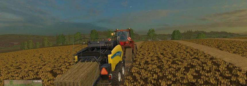 New Holand - Baler - 16 tons - 50Km/H