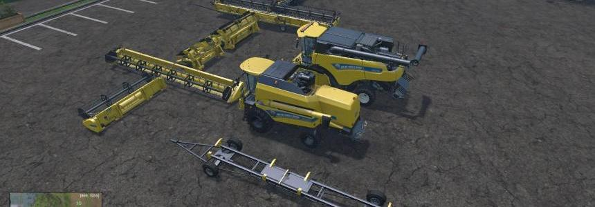 New Holland Combines, Cutters & Trailer Pack V1.1