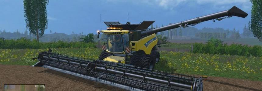 New Holland CR1090 Dynamic Front Twin Wheels V1.0