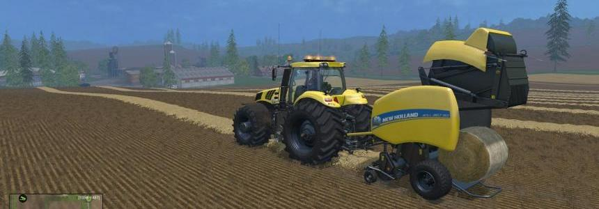 New Holland High Capacity twin baler pack v1.0