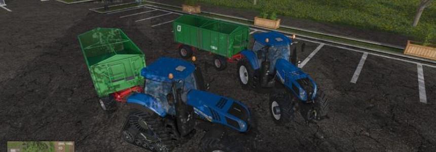 New Holland T8.320 und T8.435 SmartTrax v1.0
