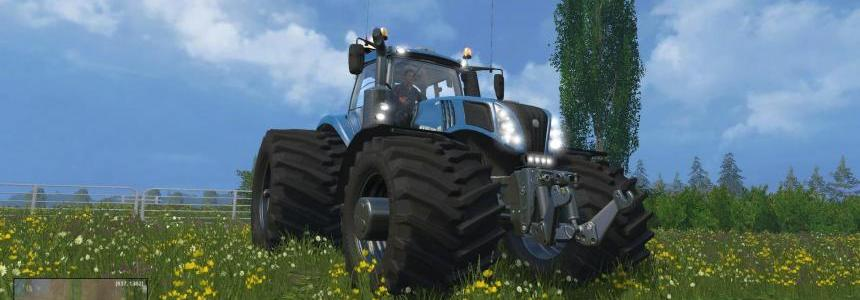 New Holland T832 EvoXtreme 620 Single wide rears v1.11