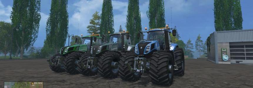New Holland T8320 EvoX 620 v1.4 pack 1
