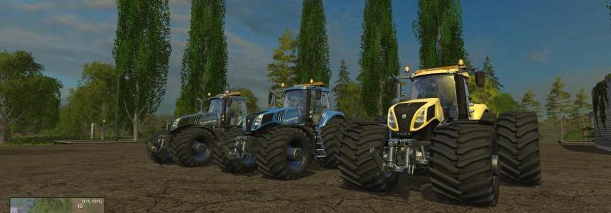 New Holland T8320 EvoXtreme v1.12 Pack