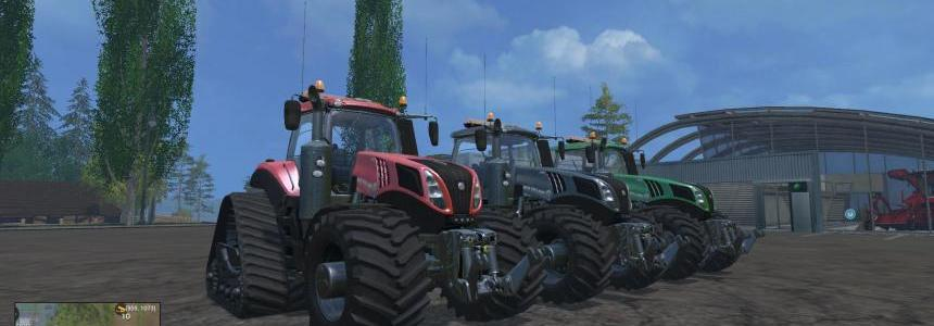 New Holland T8435 EvoXtrac 620 Pack 1 V1.4