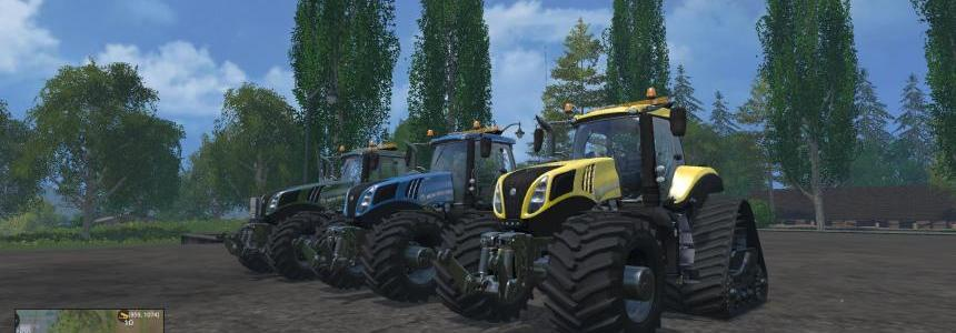 NEW HOLLAND T8435 EVOXTRAC 620 PACK 2 V1.4