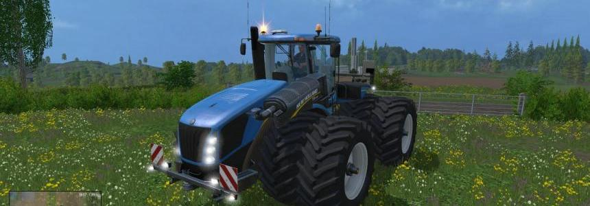 New Holland T9560 With Dynamic Twin Wheels v1.0