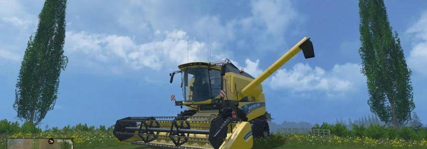 New Holland TC590 Combine & Header pack v1.0