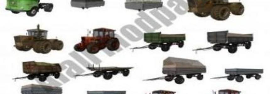 Old Russian tractors v1.3