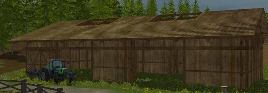 Placeable shed