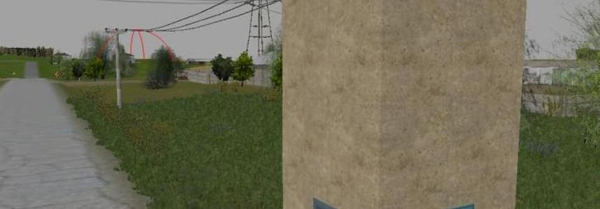 Power transformer and power pole v1.1