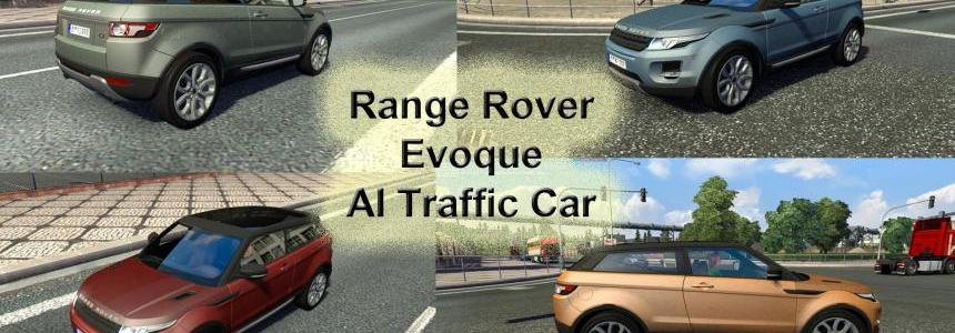 Range Rover Evoque AI Traffic Car