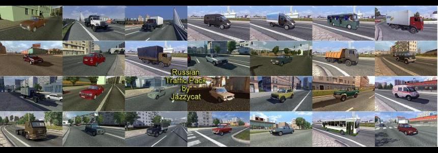 Russian Traffic Pack by Jazzycat  v1.2