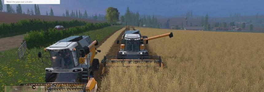 Sampo Rosenlew 18kmh Combine and Cutter pack V1.0