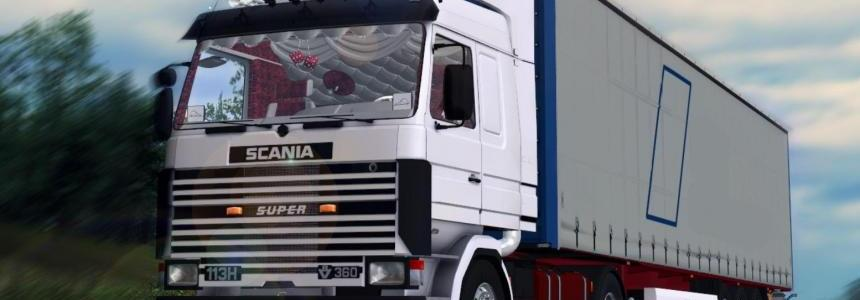 Scania 113H 360 Mod V1.0