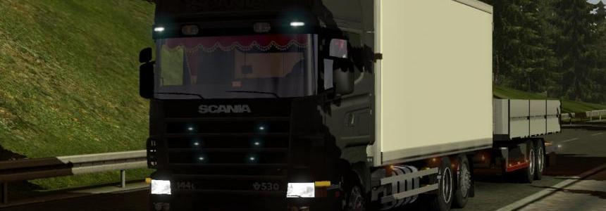 Scania 124l tandem with trailer Mod V1.0