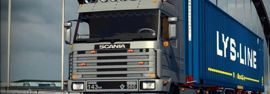 SCANIA 143M Game all versions, Mod V1.0