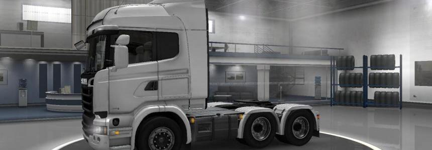 Scania Streamline 6x4 Midlift by MasterMods 1.15.X