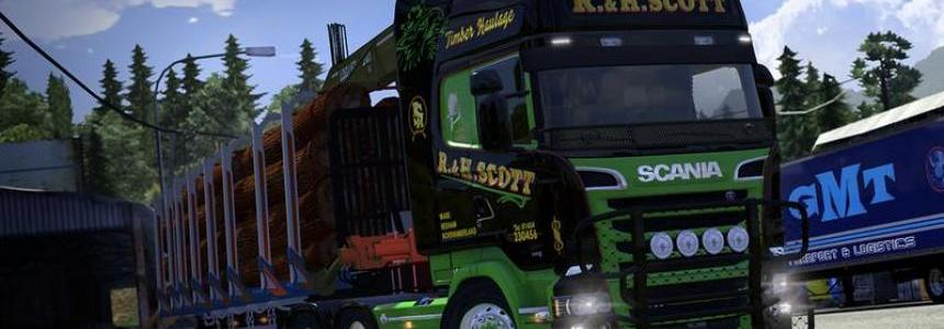 Scania Streamline R.H. Scott Skin v1.0
