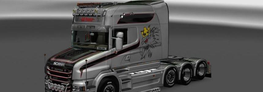 Scania T Longline V8 Vabis v1.0