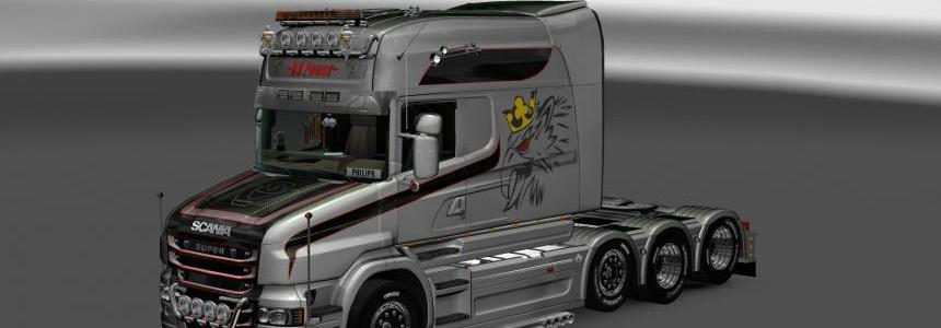 Scania T Longline Vabis V8