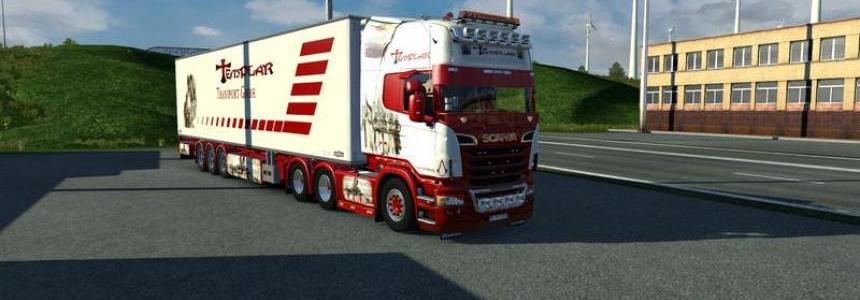 Scania Templar Skin v1.0