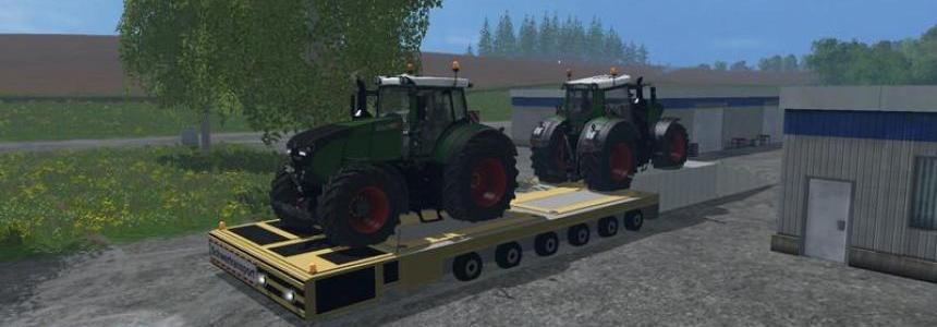 SPMT transport platform v1.0 beta